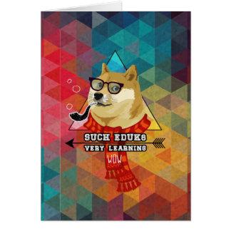 Such Doge Graduation Card