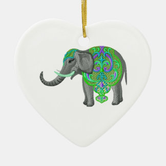 SUCH IS PROSPERITY CERAMIC HEART DECORATION