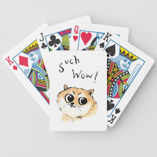 Such Wow! Doge Meme Bicycle Playing Cards