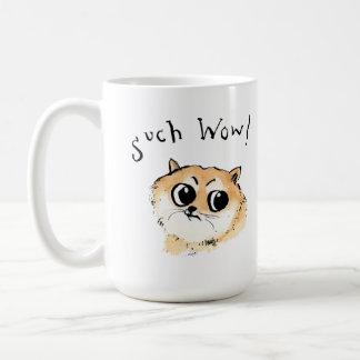Such Wow! Doge Meme Coffee Mug