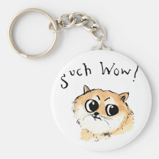 Such Wow! Doge Meme Key Ring