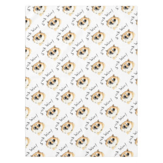 Such Wow! Doge Meme Tablecloth