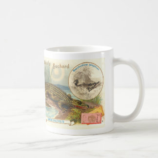 Suchard Chocolat Nicrosaurus Antique Card Coffee Mug