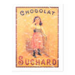 Suchard Chocolate- distressed Postcard