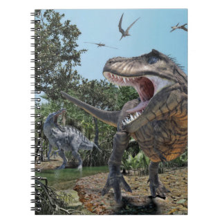 Suchomimus and Tyrannosaurus Rex Confrontation Notebooks