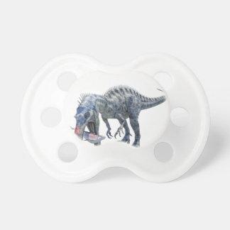 Suchomimus Dinosaur Eating a Shark Dummy