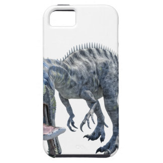 Suchomimus Dinosaur Eating a Shark Tough iPhone 5 Case