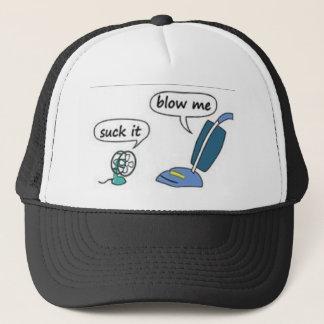 suck it, blow me trucker hat