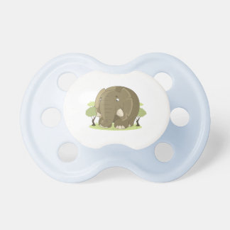 Suck Pacifier elephant