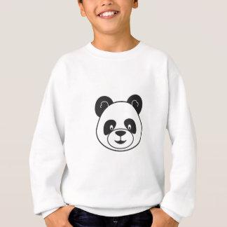 Sucks of black and white panda sweatshirt