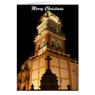 sucre christmas church greeting card