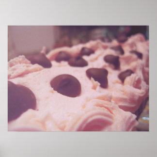 Sucre Pink Frosting Dessert Poster