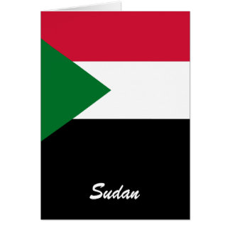 Sudan Greeting Cards