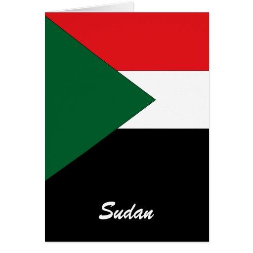 Sudan Greeting Card