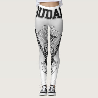 Sudan Coat of Arms Leggings