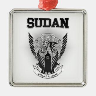 Sudan Coat of Arms Metal Ornament
