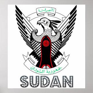 Sudan Coat of Arms Poster