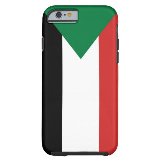 sudan country flag case tough iPhone 6 case