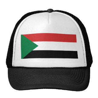 sudan country flag nation symbol cap