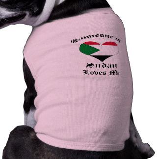 Sudan Dog T Shirt
