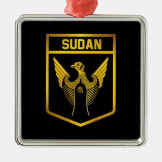 Sudan Emblem Metal Ornament
