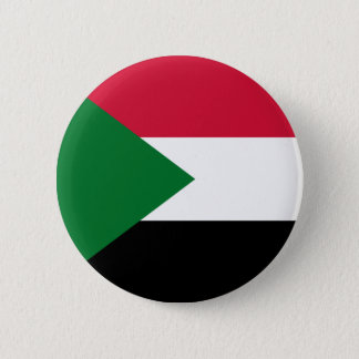 Sudan Flag 6 Cm Round Badge