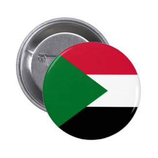 Sudan Flag Button