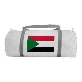 Sudan Flag Gym Duffel Bag