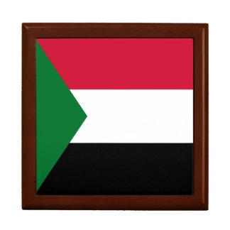 Sudan Flag Large Square Gift Box