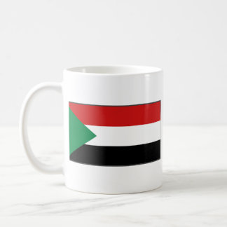 Sudan Flag ~ Map Mug
