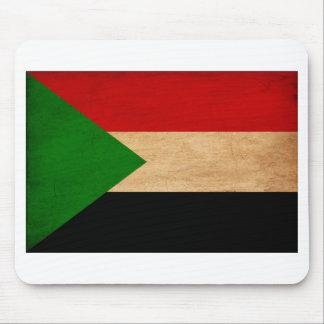 Sudan Flag Mouse Pad
