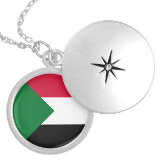 Sudan Flag Necklace