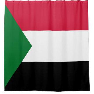 Sudan Flag Shower Curtain