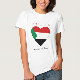 Sudan Flag Sweetheart T-Shirt