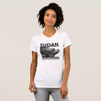 Sudan: Last Male White Rhino T-Shirt