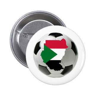 Sudan national team pinback button