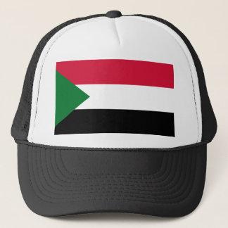 Sudan National World Flag Trucker Hat