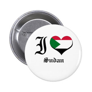 Sudan Pinback Buttons