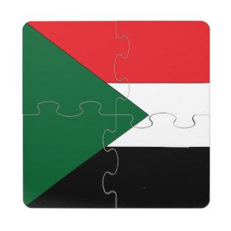 Sudan Puzzle Coaster