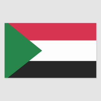 Sudan Rectangular Sticker