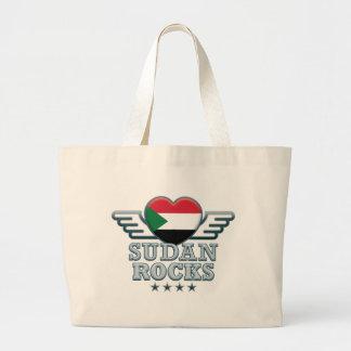 Sudan Rocks v2 Canvas Bag