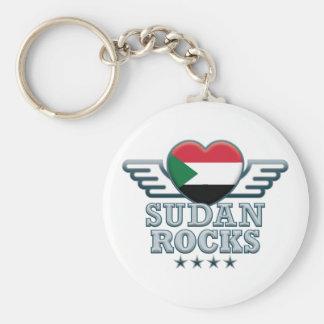 Sudan Rocks v2 Key Chain