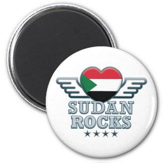 Sudan Rocks v2 Magnets