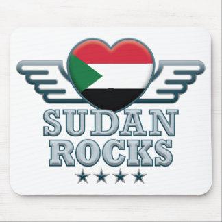 Sudan Rocks v2 Mouse Pad