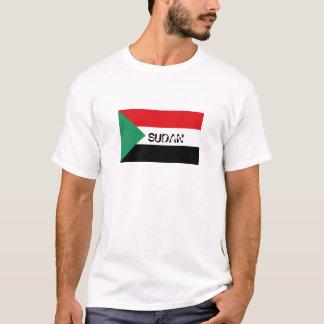 Sudan sudanese flag souvenir t-shirt