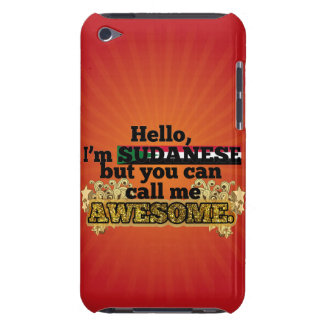 Sudanese, but call me Awesome Barely There iPod Case