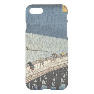 Sudden shower over Shin-Ōhashi bridge and Atake iPhone 7 Case