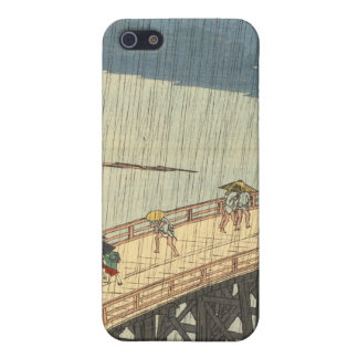 Sudden shower over Shin-Ōhashi bridge and Atake iPhone 5 Cases
