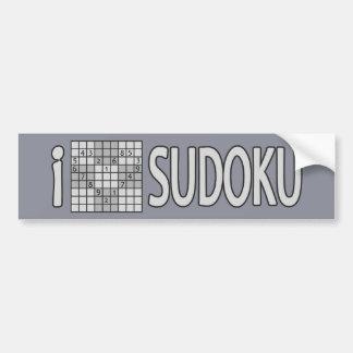 SUDOKU bumpersticker Bumper Sticker