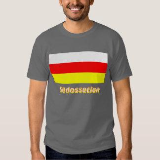 Südossetien Flagge mit Namen Shirts